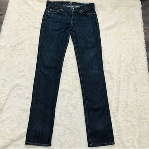 7 For All Mankind  Roxanne Ankle Skinny Jeans 27